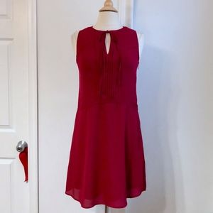 Banana Republic Burgundy Red Cocktails Dress 2 XS
